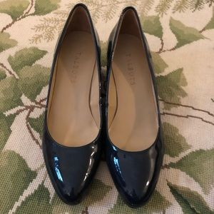 Talbots Patent Leather Wedge